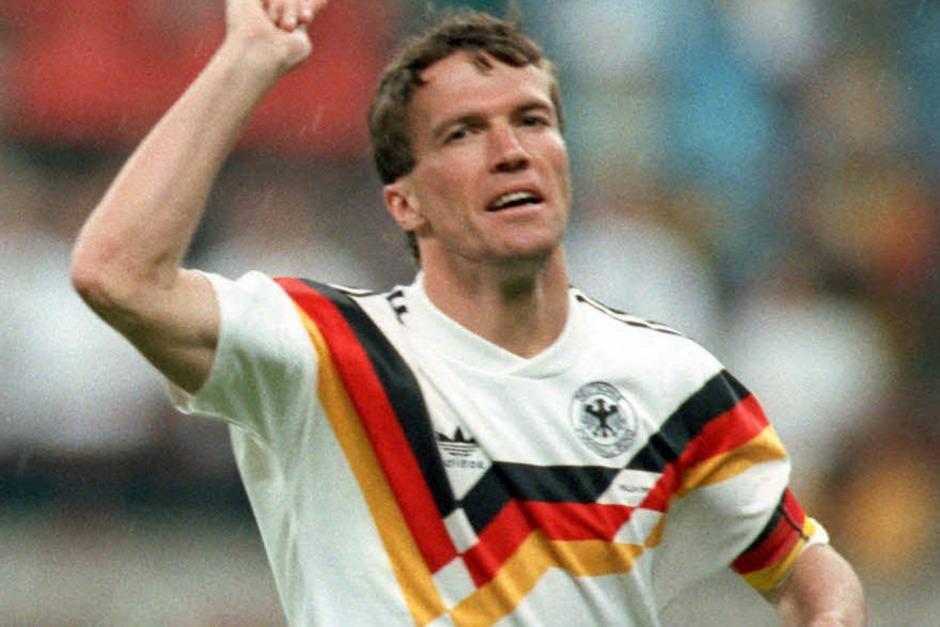 1991: Lothar Matthäus (Deutschland) (Foto: Verwendung weltweit, usage worldwide)