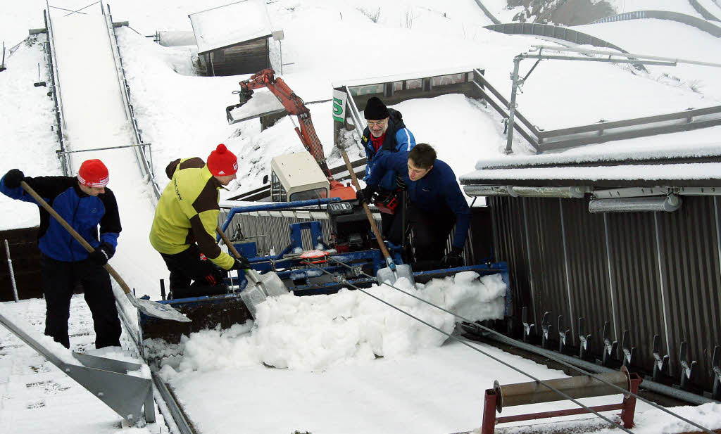 skispringen männer heute