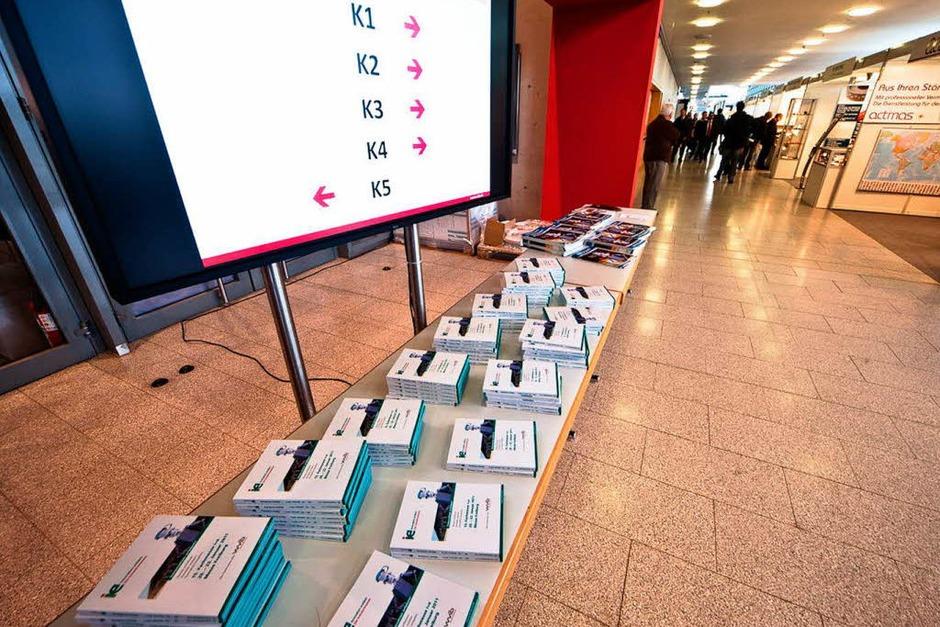 Innovationen und Entwicklungen: Die I+E-Messe in Freiburg. (Foto: Janos Ruf)