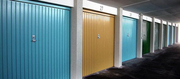 haus garten geh rt die garage zur wohnung badische. Black Bedroom Furniture Sets. Home Design Ideas