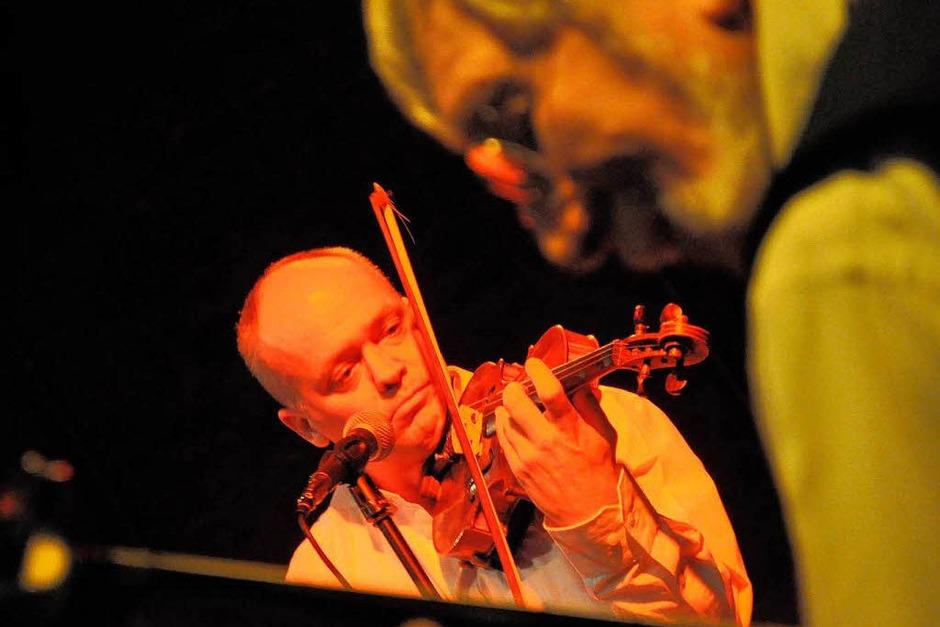 Karsten David Schmitte und Franz Hoch (Foto: Barbara Ruda)