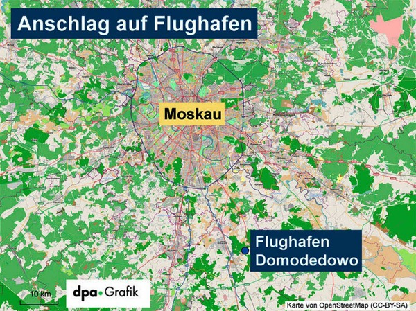 Wo genau liegt der Flughafen?