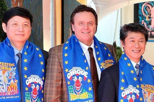 Roland Mack sitzt in der Jury des Zirkusfestivals von Monte Carlo