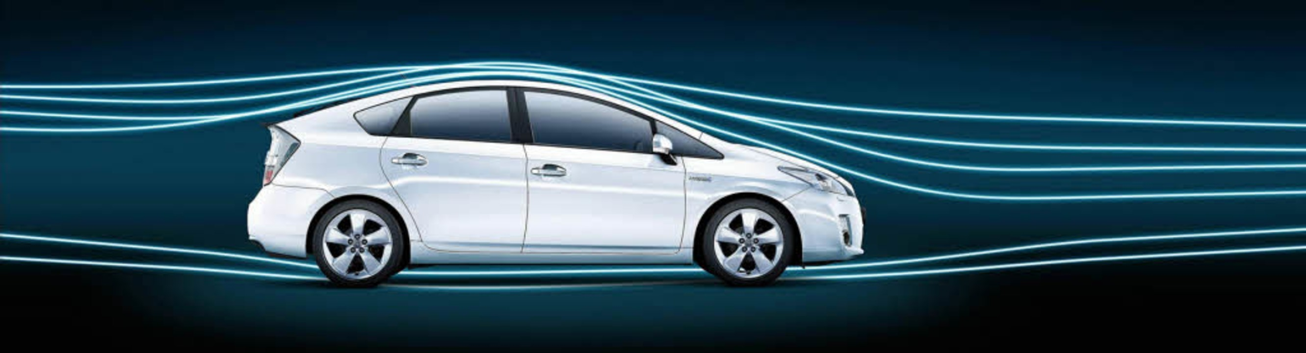 Schnittig: Toyota Prius im Windkanal  | Foto: Daimler AG/Toyota