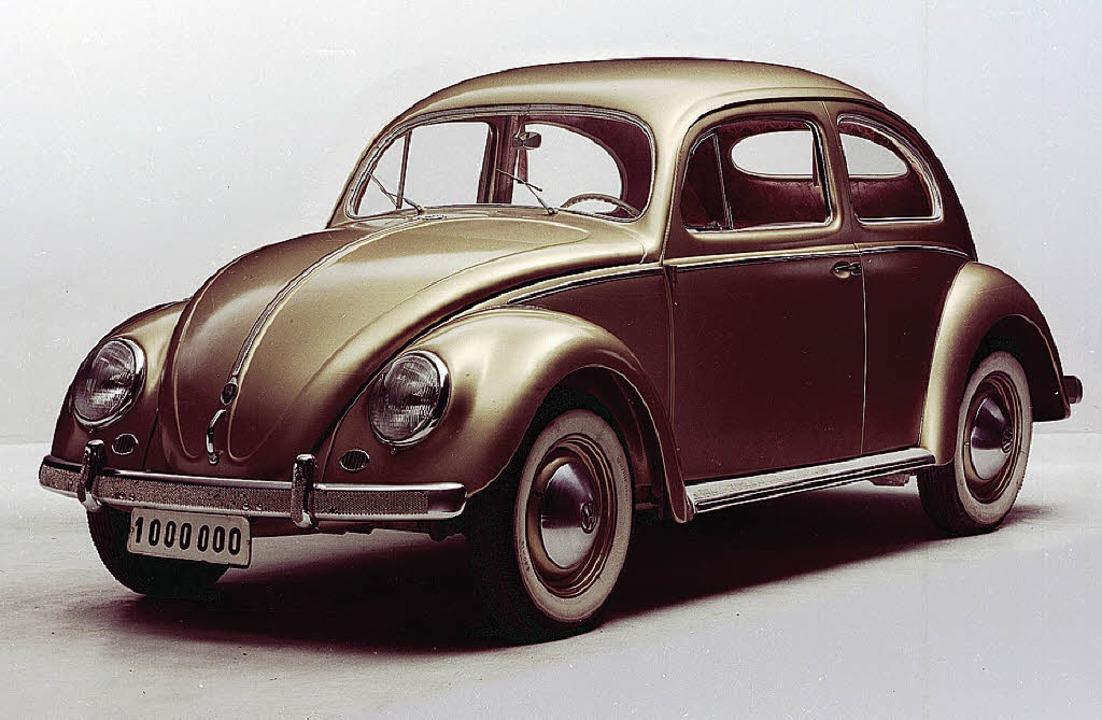 <ppp> </ppp>und der Käfer. Von ihm wur...mt knapp 22 Millionen Stück verkauft.   | Foto: Fotos: Ford/Volkswagen