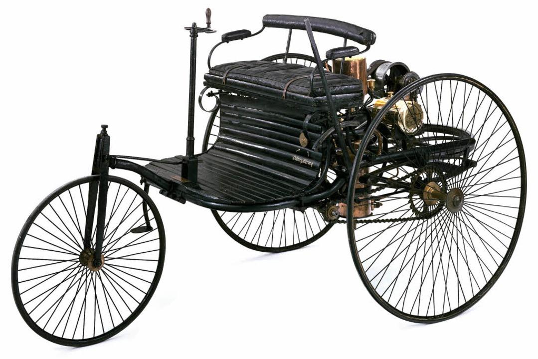 Das Original: Im Deutschen Museum in M... mit der Modellnummer 1.  | Foto: Deutsches Museum