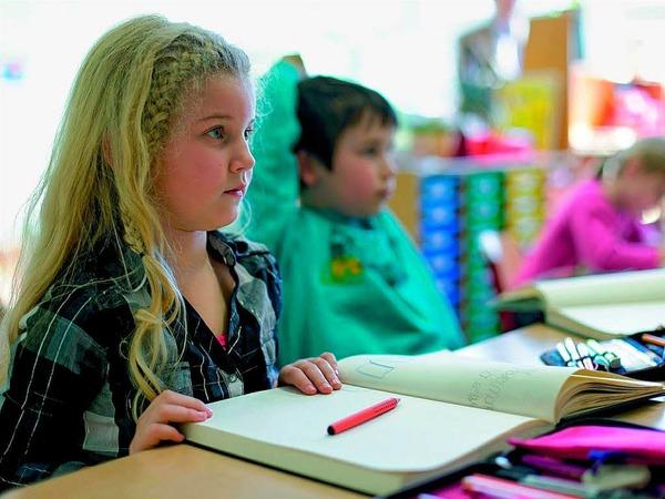 Grundschrift in der Grundschule: Schüler sollen dadurch das Schreiben schneller lernen und sich nicht so oft umgewöhnen müssen