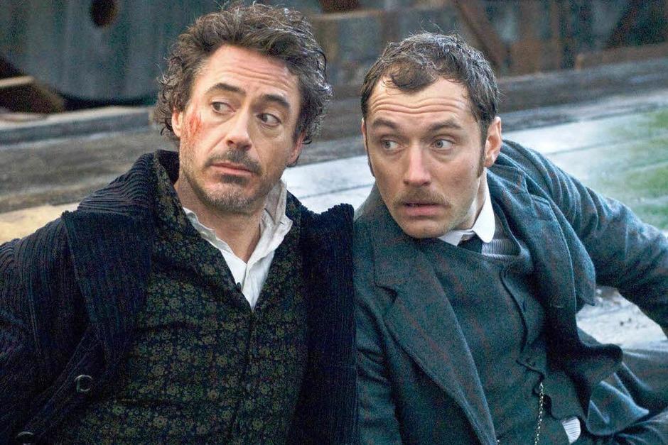 "Fotos: ""Sherlock Holmes 2""-Dreh in Straßburg (Foto: Warner)"