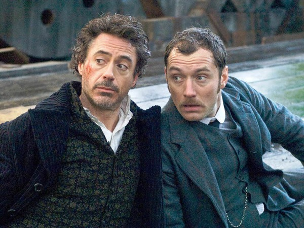Fotos: &quot;Sherlock Holmes 2&quot;-Dreh in Straburg