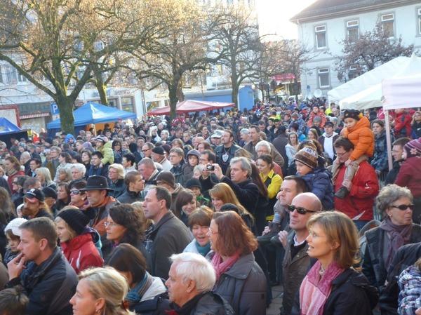 Impressionen vom Gugge-Treffen in Schopfheim.