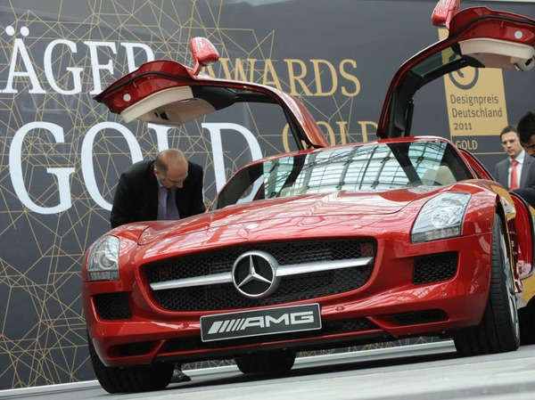 Deutscher Designpreis in Gold f�r den Mercedes SLS AMG