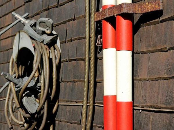 Verlassen und vergessen - der Bahnhof Hirschsprung an der B31