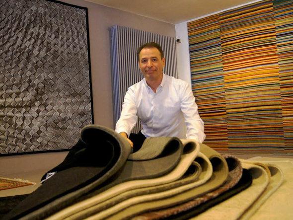 Lörrach Pimp my Fußboden Lörracher Firma liefert Teppich