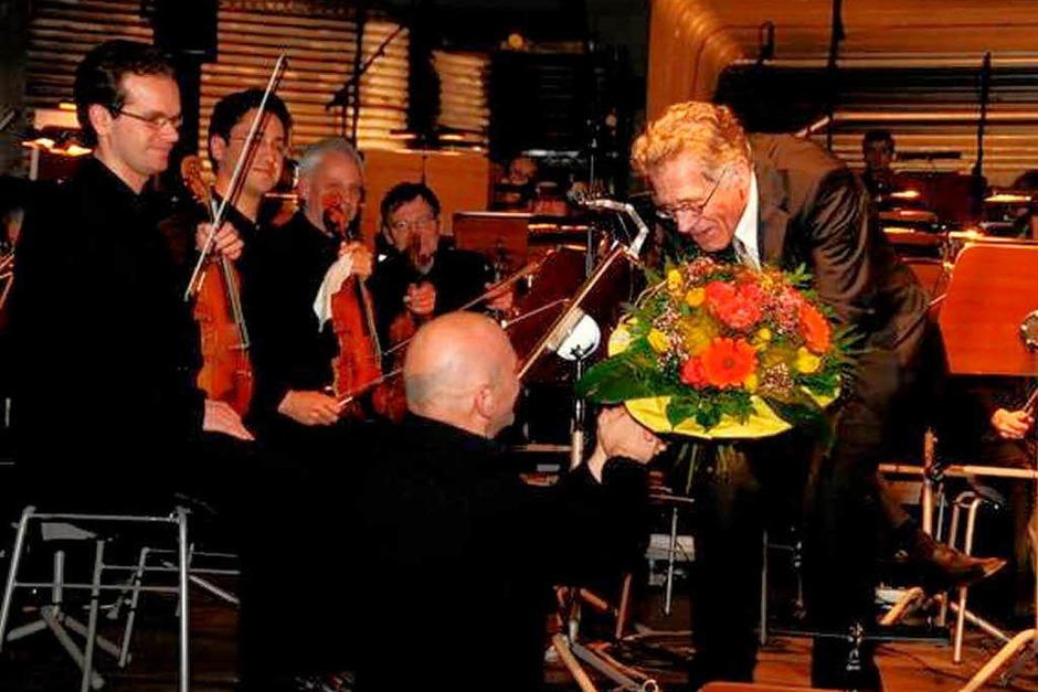 Das SWR-Sinfonieorchester spielt in Emmendingen (Foto: Benedikt Glöckner)