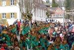 Fotos: 1250 Hästräger beim Umzug in Friedenweiler