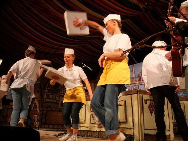 Die Staufener Schelmenzunft feiert Fasnacht - mit viel Geist und Stil