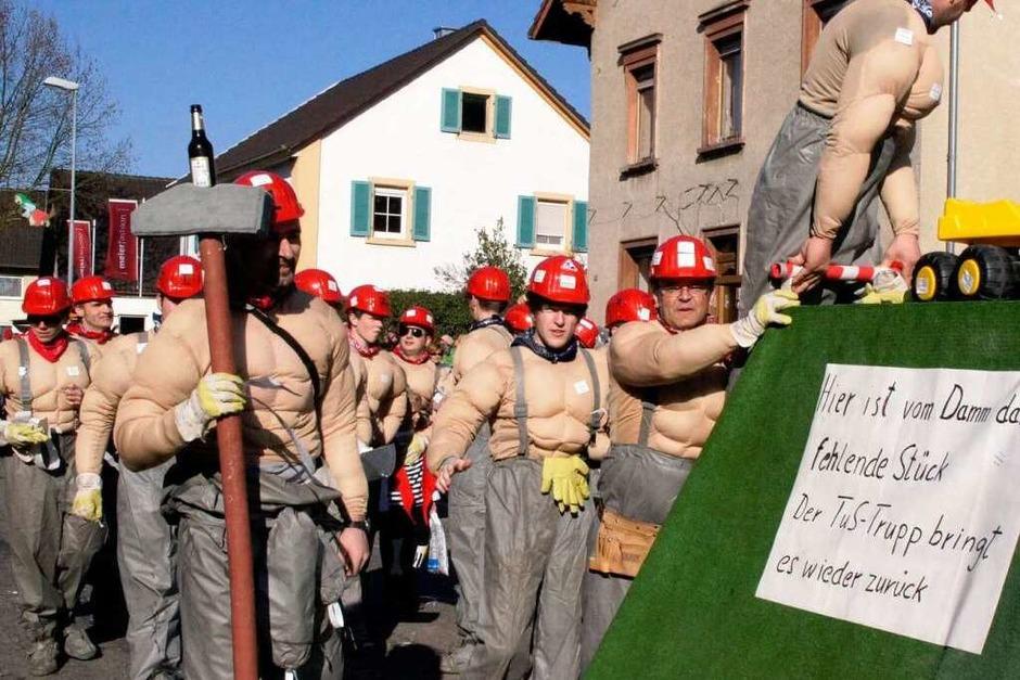 Umzug in Rheinhausen: Der TuS-Trupp (Foto: Ilona Hüge)