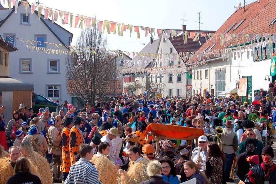 Ewattingen war fest in Narrenhand (Foto: Juliane Kühnemund)