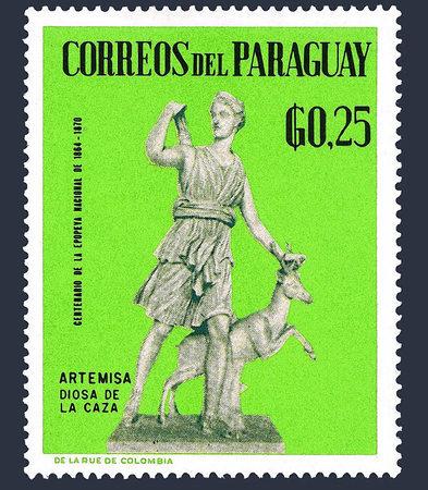 Antike Statuen auf Briefmarken 42371825-p-590_450