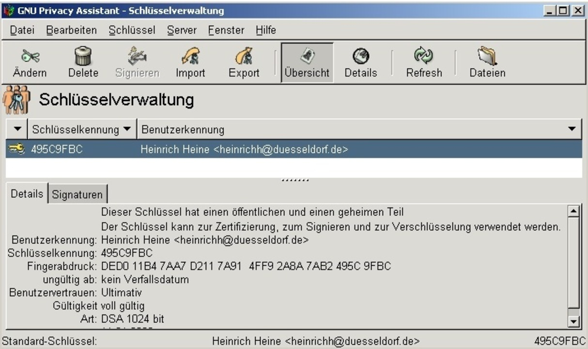 Gpg4win - Gpg4win ist eine recht kompl...on GnuPG. Download: Gpg4win </a>