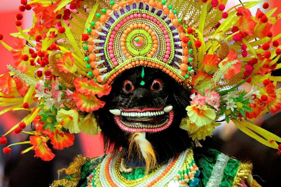 Ein Tänzer aus Indien (Foto: dpa)