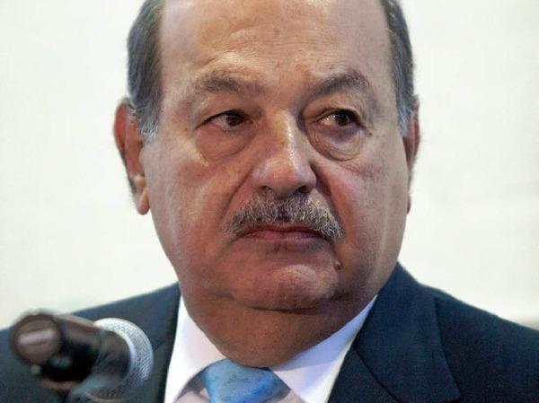 Rang 1: Carlos Slim Helu: 74 Milliarden Dollar, Telmex