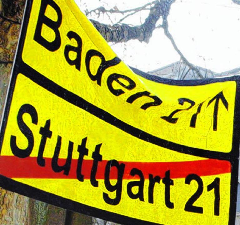 Stuttgart 21 wird nach wie vor heiß diskutiert.   | Foto: Heidi Fössel