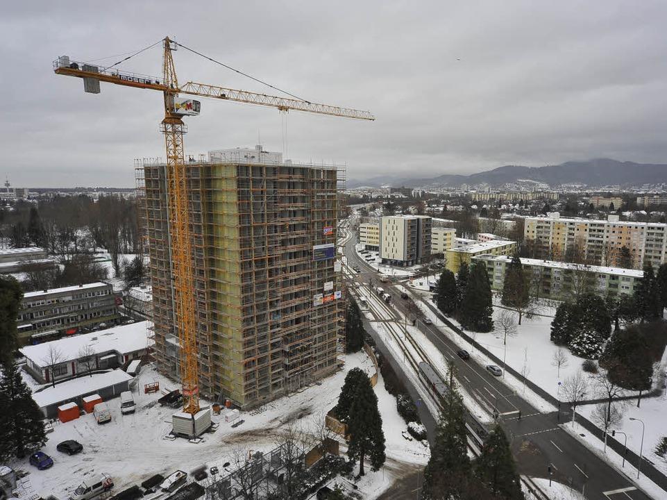Das Haus während der Sanierungsarbeiten (Archivbild vom Januar 2010)  | Foto: Thomas Kunz