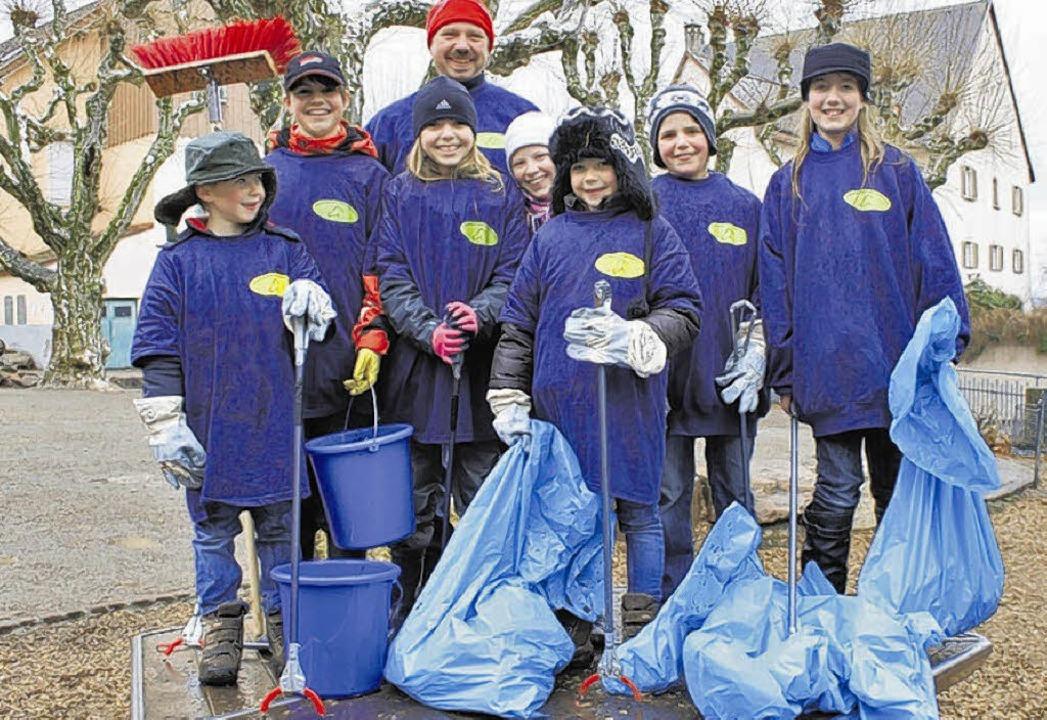 Den Mitgliedern des Reitsportvereins W...Regen und Kälte nicht. Bilder: Letsche    Foto: Lentsche