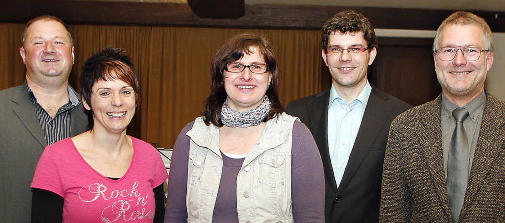 Neues Führungsteam des Musikvereins zu..., Bernd Schüssele und Hermann Ohnemus   | Foto: Heidi Fössel