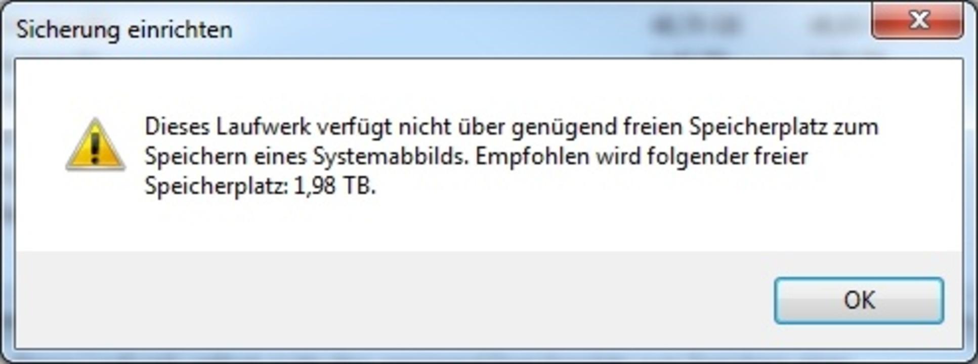 Windows Sicherung  | Foto: IDG