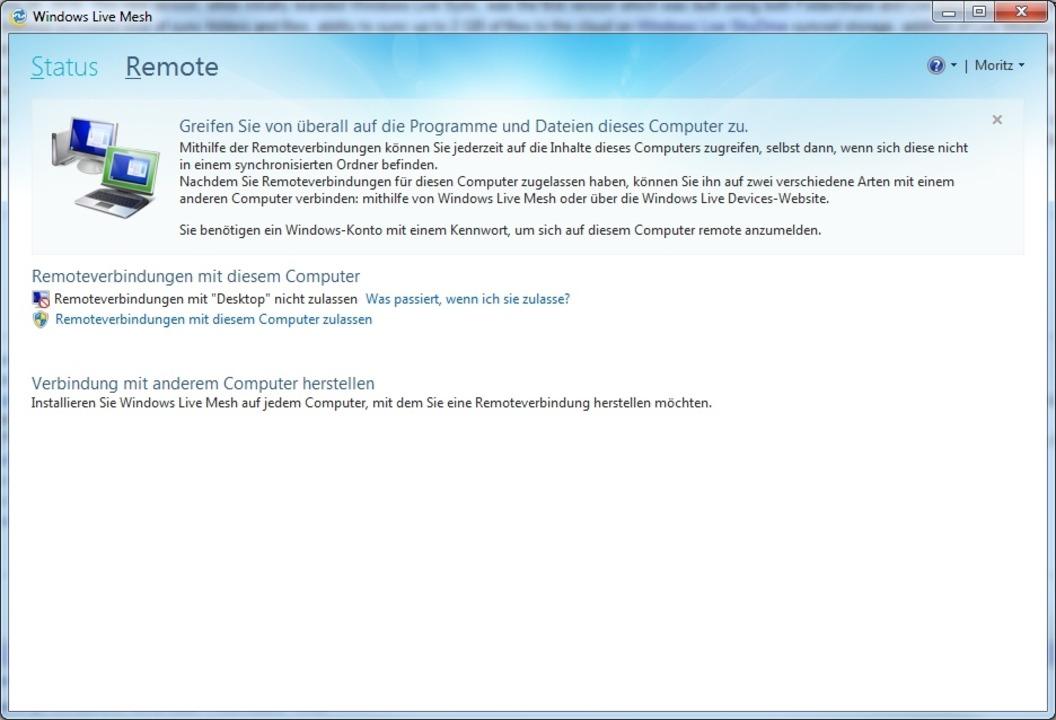 Windows Live Mesh  | Foto: IDG