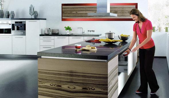 haus garten die k che muss sich sehen lassen k nnen. Black Bedroom Furniture Sets. Home Design Ideas