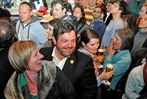 Fotos: Die Wahlparty der Gr�nen in Freiburg