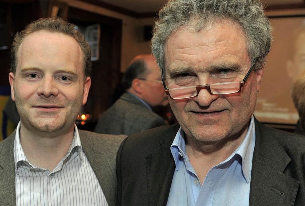 Enttäuschte Erwartungen bei der FDP: K...Glück (links) und Nikolaus von Gayling  | Foto: Eggstein