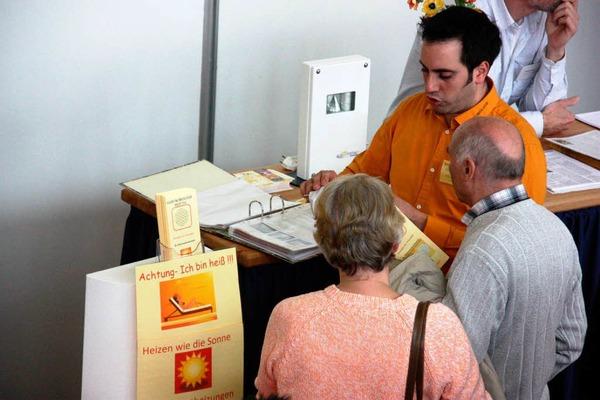 Zahlreiche Besucher informierten sich bei der diesjährigen Frühjahrsmesse der Bautechnologie Breisach in der Breisgauhalle.