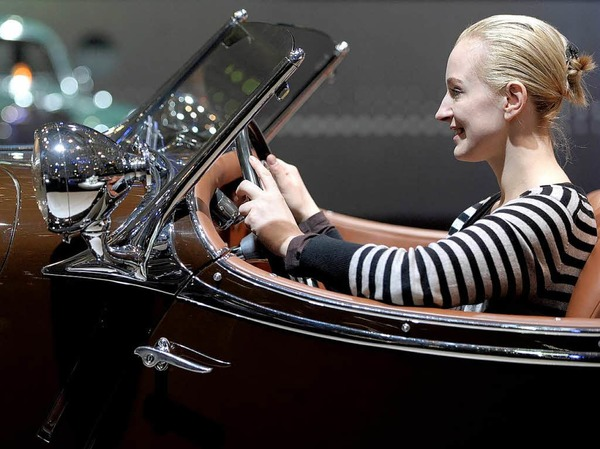 Einmal hinterm Steuer sitzen: Mercedes-Benz 500 K von 1936