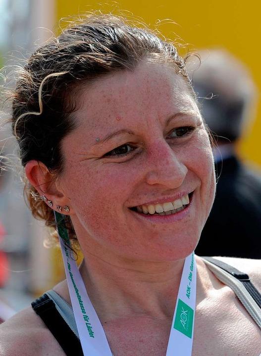 MarathonsiegerinJudith Iseler  | Foto: seeger