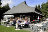 Almgasthaus Knöpflesbrunnen: Oase der Stille auf 1100 Metern Höhe