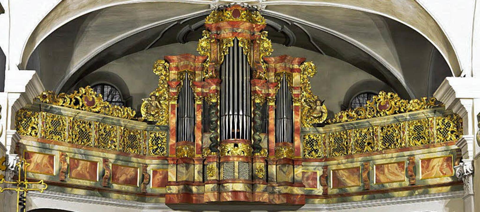 Die Silbermann-Orgel in der Klosterkirche Unserer Lieben Frau   | Foto: Karl Schlessmann