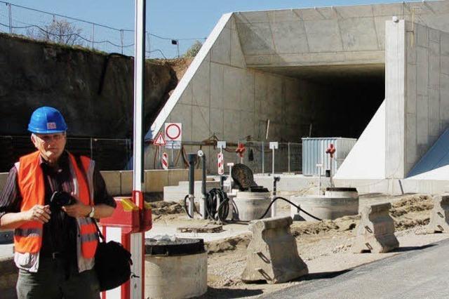 Ende 2012 sollen die Züge in den Tunnel