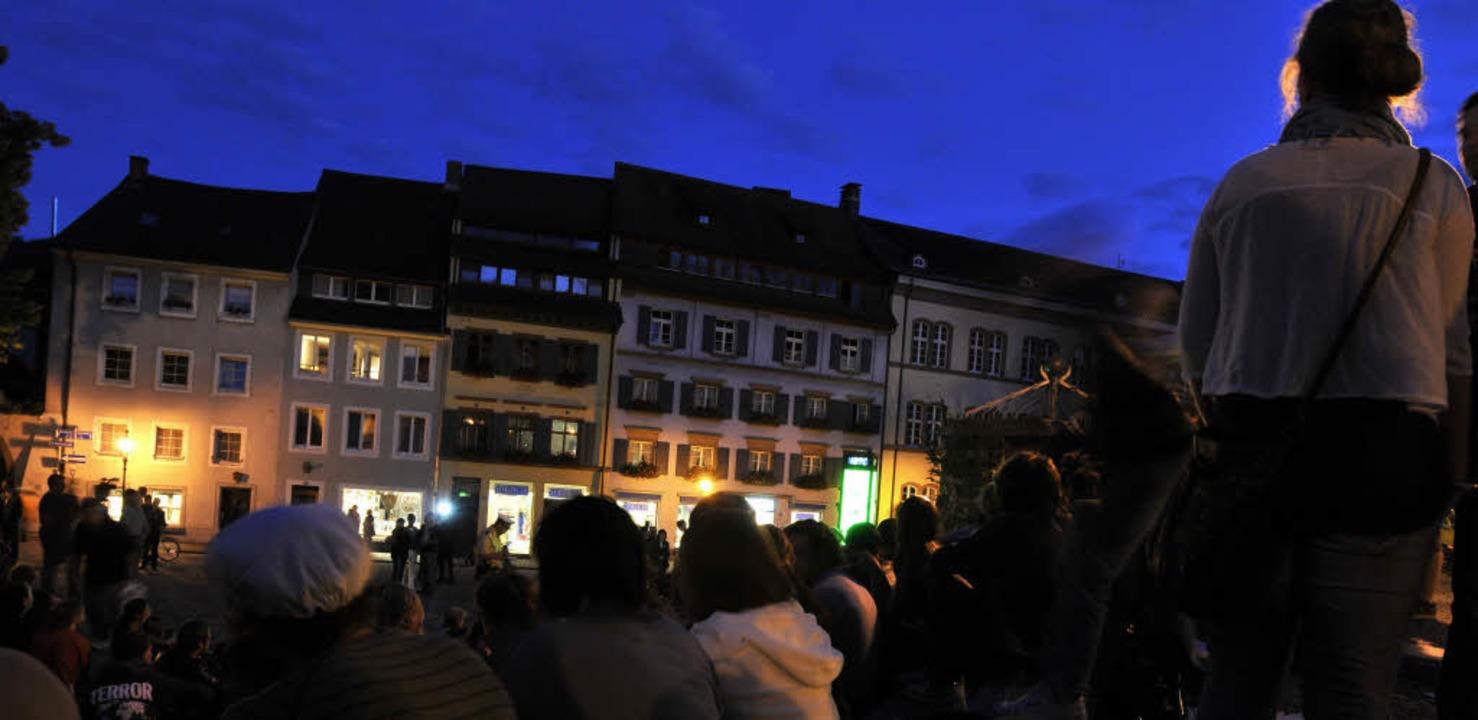 Spaß, Lärm, Alkohol: Bis zu 20 Jungges...nde werden in der Innenstadt gefeiert   | Foto: Ingo Schneider