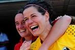 Fotos: Frauen des SC Freiburg feiern Aufstieg