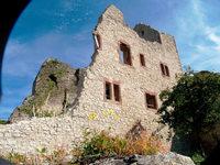 Winzerschenke Burg Café Landeck: Brägele bei Ritter Kunibert