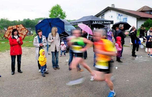 Impressionen vom Lauf in den Mai des TuS Ottenheim.