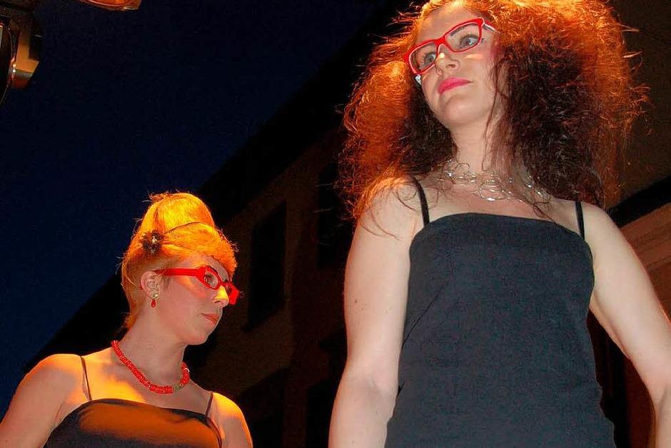 Emmendinger Nacht - Modenschau auch für Köpfe und Augen (Foto: Sylvia-Karina Jahn)