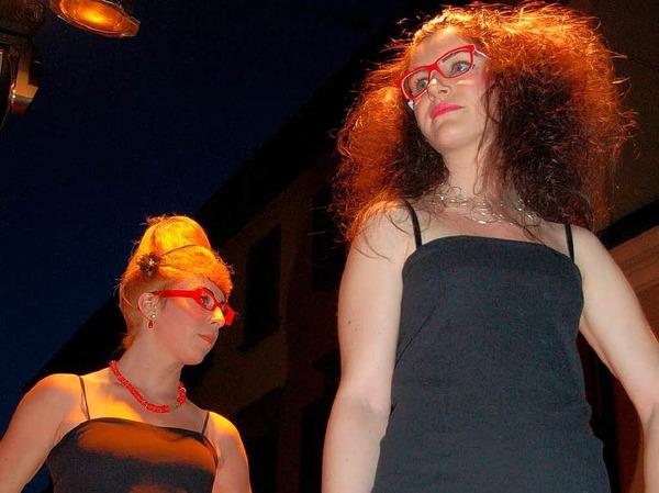 Emmendinger Nacht - Modenschau auch für Köpfe und Augen