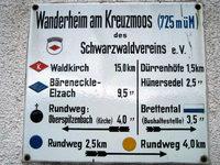 Wanderheim Kreuzmoos: Kleine Karte, aber viel Platz zum Sitzen