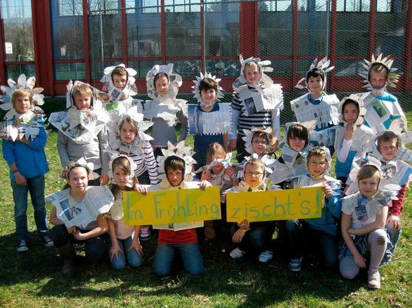 Den zweiten Platz belegte die Klasse 4d der Rheinschule Neuenburg.