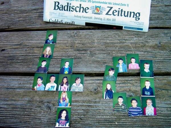 Die Klasse 4a der Grundschule Theresianum aus Breisach